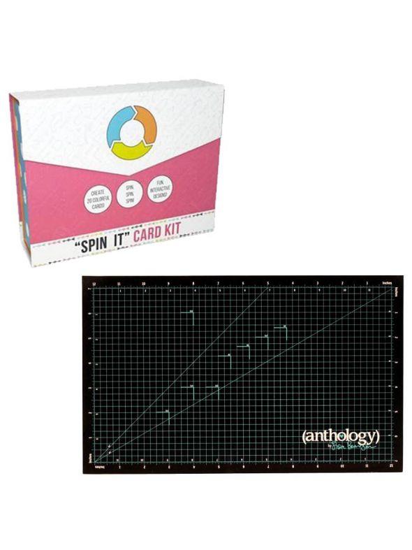 Spin It Card Kit Self-Healing Mat Bundle